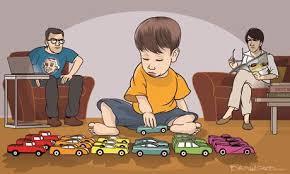 نمونه ای از علائم کودک اتیسم 4 ساله