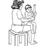 لباس پوشیدن به کودک فلج مغزی